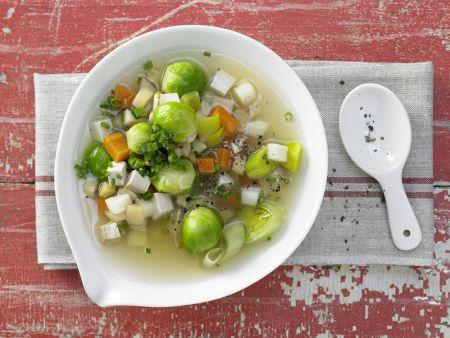 Tofu-Gemüse-Topf