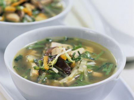 Tofu-Gemüsebrühe