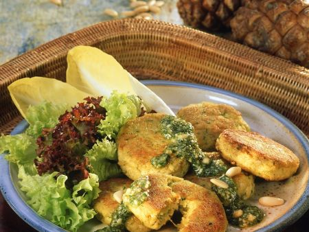 Tofu-Gemüsepuffer