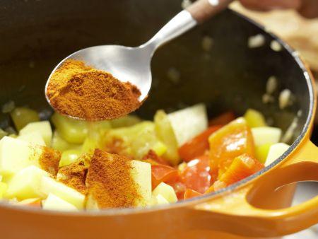 Tofu-Gulasch: Zubereitungsschritt 10