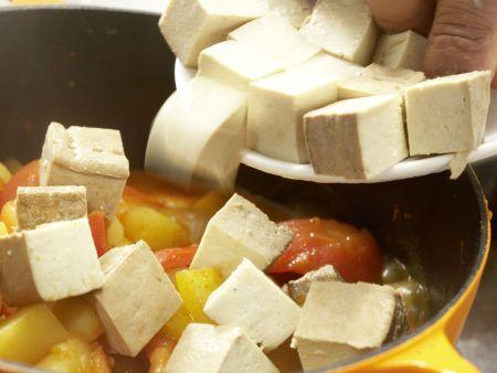 Tofu-Gulasch: Zubereitungsschritt 12