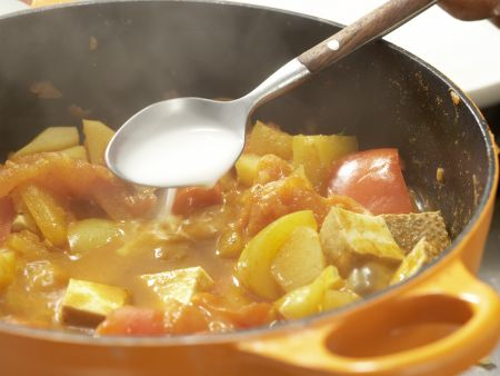 Tofu-Gulasch: Zubereitungsschritt 13