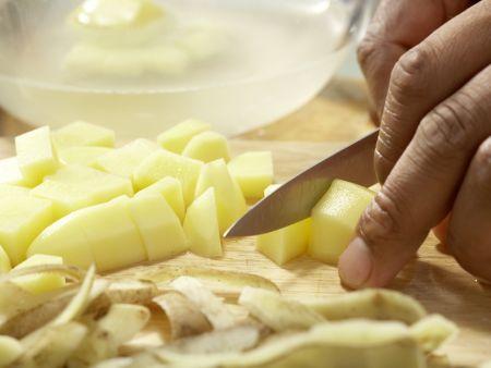 Tofu-Gulasch: Zubereitungsschritt 7