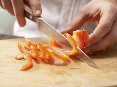 Tofu-Gurken-Salat: Zubereitungsschritt 4