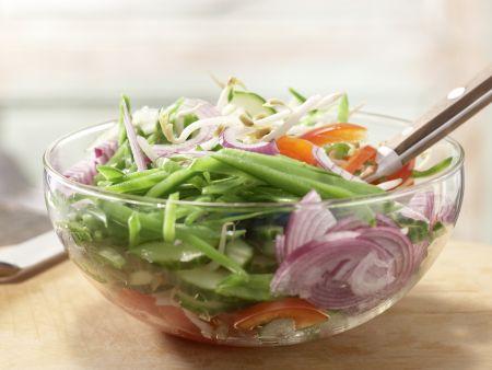 Tofu-Gurken-Salat: Zubereitungsschritt 5