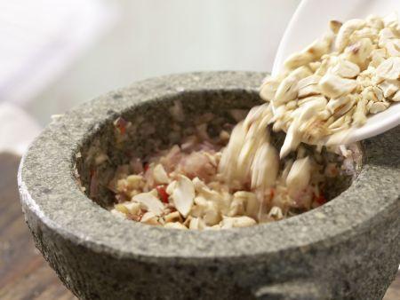 Tofu-Gurken-Salat: Zubereitungsschritt 8