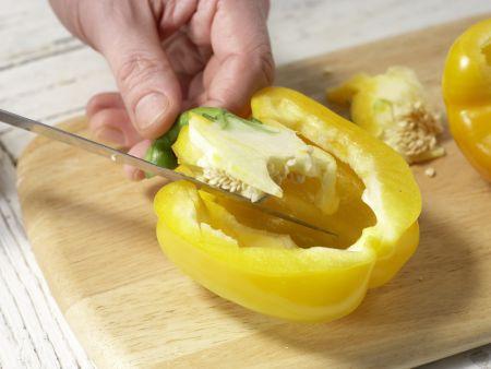 Tofu-Paprika-Spieße: Zubereitungsschritt 3