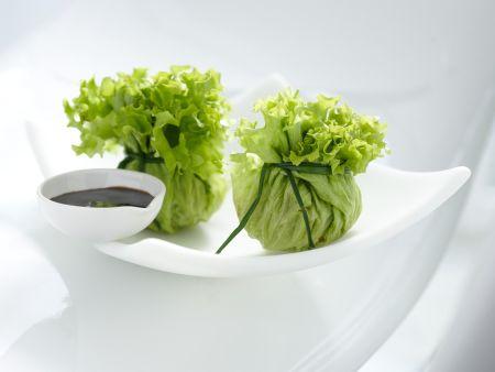 Tofu-Salatbeutelchen