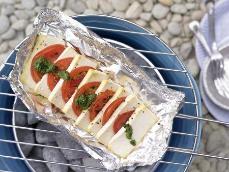 Tofu-Tomaten-Pfännchen