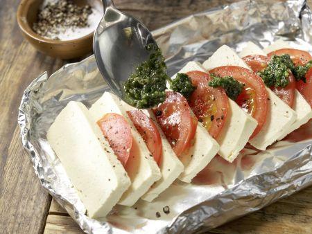 Tofu-Tomaten-Pfännchen: Zubereitungsschritt 7