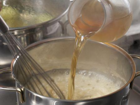 Tofuklößchen mit Kapernsauce: Zubereitungsschritt 7