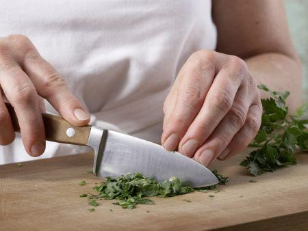 Tofuklößchen mit Kapernsauce: Zubereitungsschritt 9