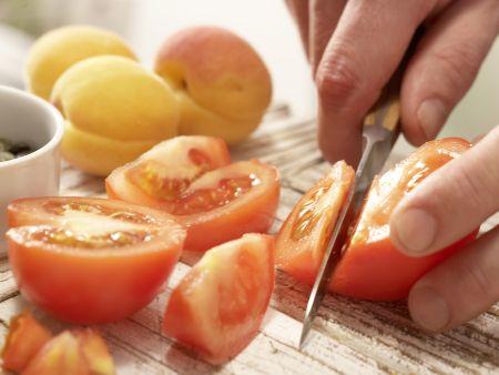 Tofuschnitten mit Kürbiskernen: Zubereitungsschritt 2