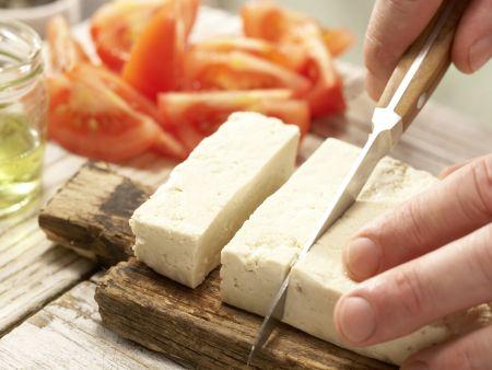 Tofuschnitten mit Kürbiskernen: Zubereitungsschritt 5