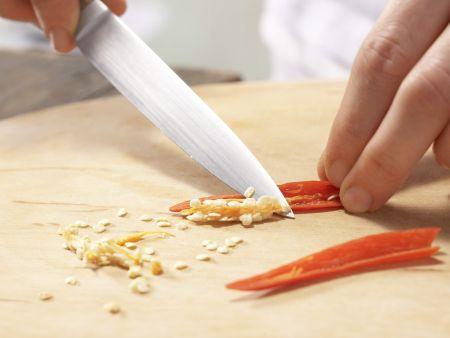 Tomaten-Chili-Sorbet: Zubereitungsschritt 3