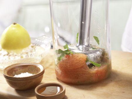 Tomaten-Chili-Sorbet: Zubereitungsschritt 5