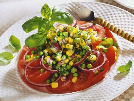 Tomaten-Gemüsesalat