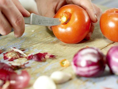 Tomaten-Ketchup: Zubereitungsschritt 1