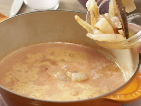 Tomaten-Kokos-Suppe: Zubereitungsschritt 4