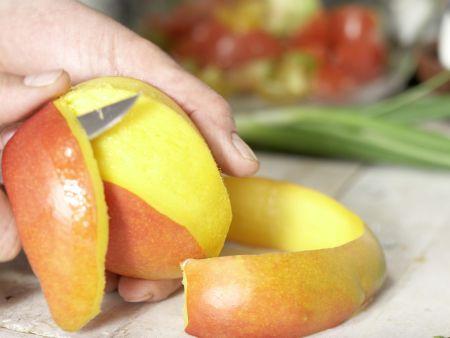 Tomaten-Mango-Salat: Zubereitungsschritt 3