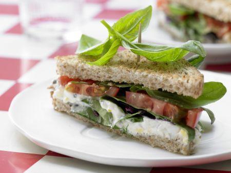 Tomaten-Sandwich