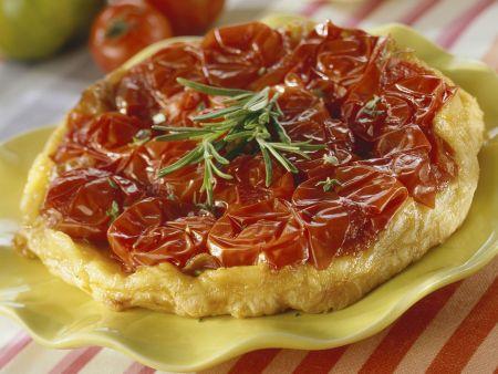 Rezept: Tomatenkuchen mit Rosmarin