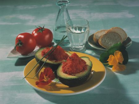 Tomatensorbet