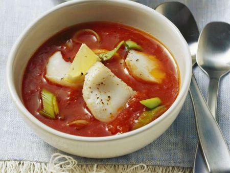 tomatensuppe mit fisch rezept eat smarter. Black Bedroom Furniture Sets. Home Design Ideas