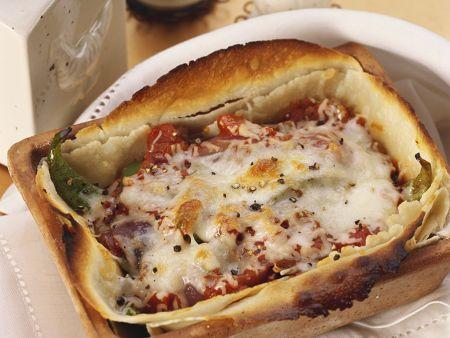 Tortilla-Gemüseauflauf