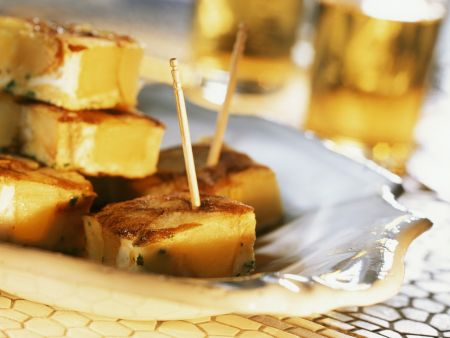 Tortilla mit Kartoffel