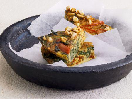 Rezept: Tortilla mit Spinat