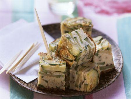 Tortilla mit Zucchini
