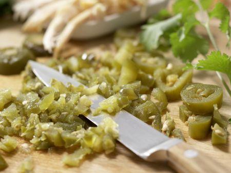 Tortilla-Sandwichs: Zubereitungsschritt 2