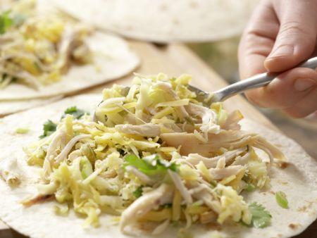 Tortilla-Sandwichs: Zubereitungsschritt 6