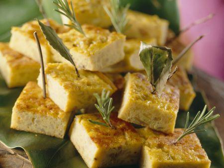 Tortilla-Schnittchen
