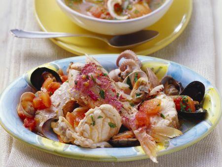 Toskanischer Fischtopf