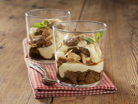 Trifle mit Vanillecreme