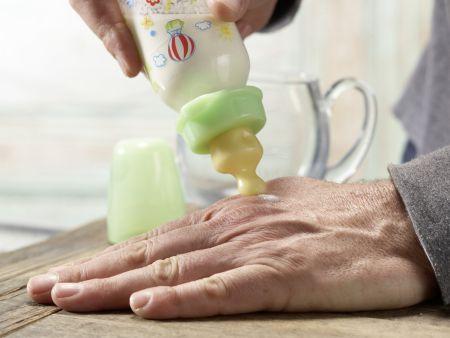 Trinkbrei mit Apfelsaft: Zubereitungsschritt 4
