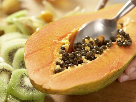 Tropischer Obstkuchen: Zubereitungsschritt 5
