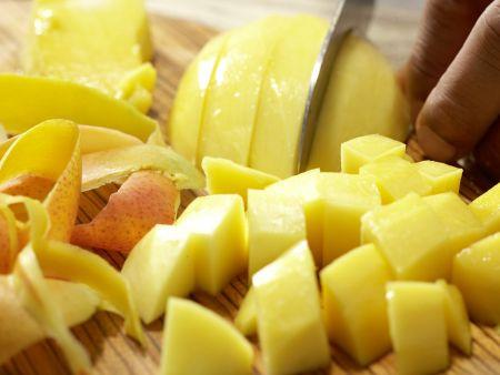 Tropisches scharfes Chutney: Zubereitungsschritt 3