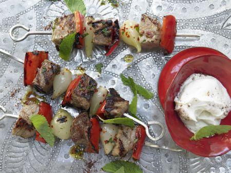 Rezept: Türkische Fleischspieße