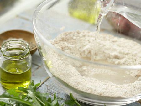 Türkische Pizza: Zubereitungsschritt 2