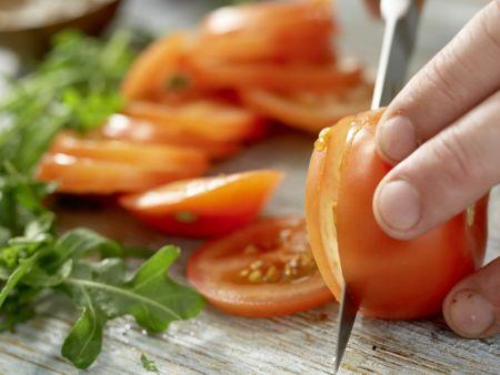 Türkische Pizza: Zubereitungsschritt 8