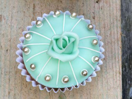 Rezept: Türkise Cupcakes