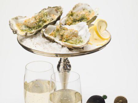 Überbackene Austern an Silvester
