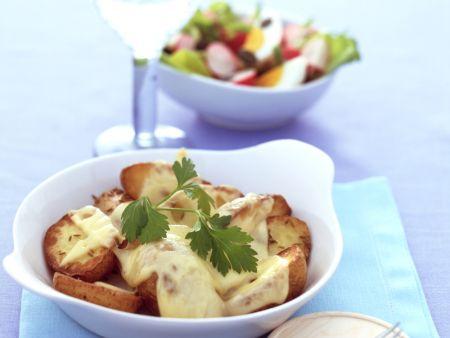 Überbackene Kümmelkartoffeln