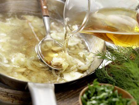 Überbackene Lachsfilets: Zubereitungsschritt 3