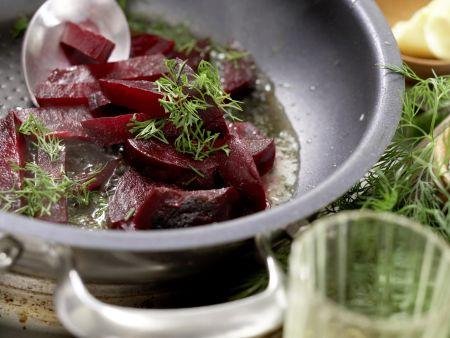 Überbackene Lachsfilets: Zubereitungsschritt 8