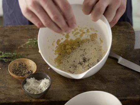 Überbackene Sardinen: Zubereitungsschritt 3