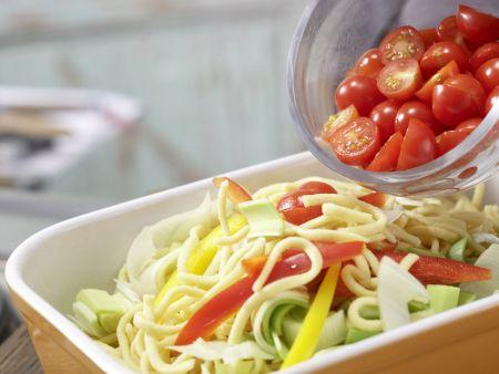 Überbackene Spätzle: Zubereitungsschritt 7